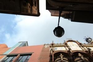 Paisagem Urbana/Uma vista com o Palácio da Música Catalã