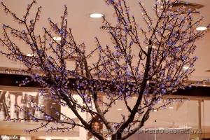 Outros/árvore cristal azul.