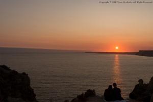 /Pôr de sol na Ponta da Piedade _ Algarve