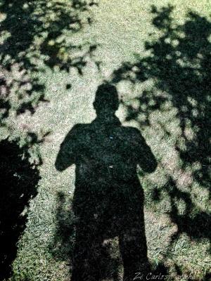 Retratos/A magia das sombras ( auto-retrato)!