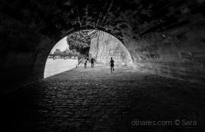 Paisagem Urbana/Paris em meia Lua...