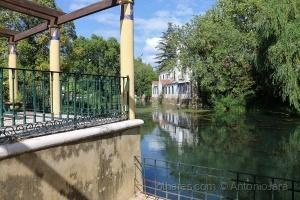 Paisagem Natural/O Jardim e o rio Nabão (Tomar )