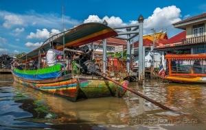 Gentes e Locais/Império da cor... (Canais de Bangkok)