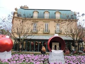 Outros/França Epcot orlando pavilhão