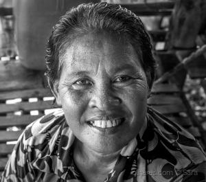 Retratos/...uma mulher que sorri