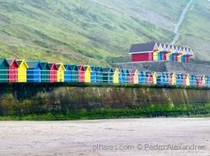 /Casinhas de praia coloridas