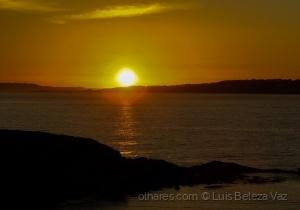 Paisagem Natural/Fim de um belo dia no Litoral Galego
