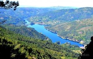 /Rio Cávado, do Miradouro da Pedra Bela!