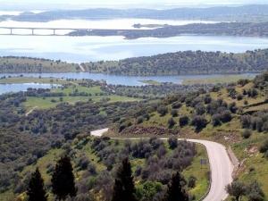 Paisagem Natural/estrada do lago