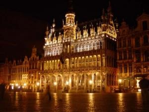 Paisagem Urbana/Noite em Bruxelas