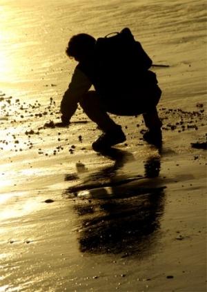 Outros/O homem k afagava o mar