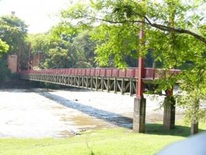 Outros/Ponte pensil sobre o Rio Piracicaba