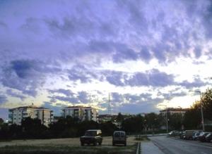 /purple sky