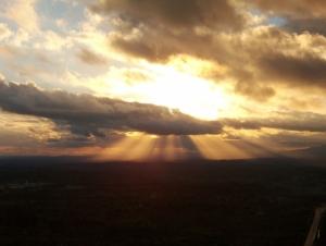 /Quando o sol rasgou o céu