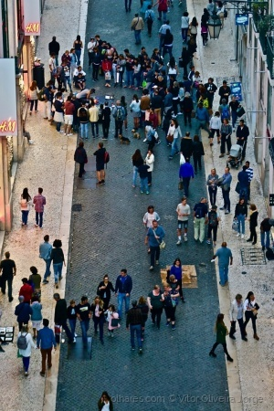 /Lisboa é uma festa incrível!