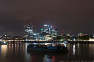 Paisagem Urbana/Londres - Rio Tâmisa (Thames river)