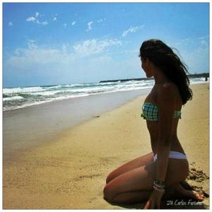 /Olhando o mar!