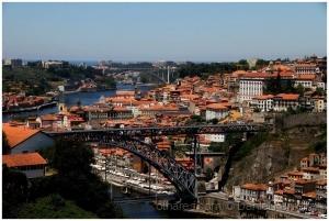Paisagem Urbana/Um rio, duas pontes e duas cidades