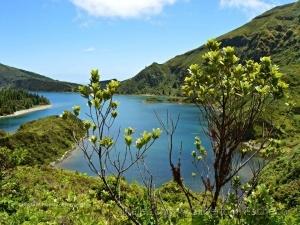 Paisagem Natural/Perspectivas diferentes da lagoa do Fogo