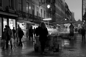 Paisagem Urbana/tempo de castanhas
