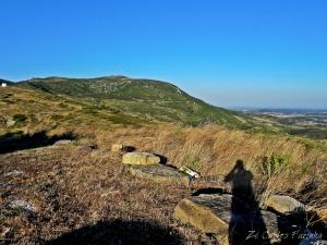 /A sombra na montanha!