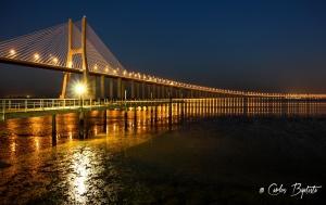 Paisagem Urbana/Ponte Vasco da Gama by night!