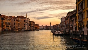 Paisagem Urbana/Sunrise in Venice.