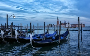 Paisagem Urbana/Cair da noite em Veneza.