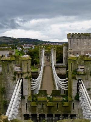 /Ponte do castelo de Conwy