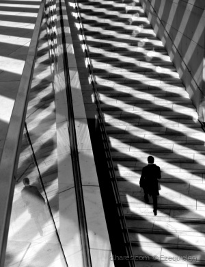 /The light and shadow stairs