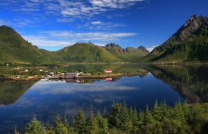/Lofoten reflections
