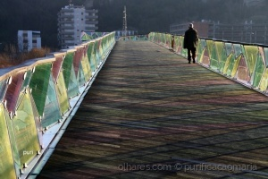 /Ponte  Pedro e Inês ao amanhecer!!