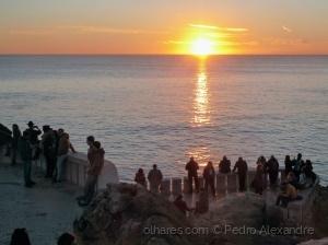 Paisagem Natural/Pôr do Sol na Boca do Inferno