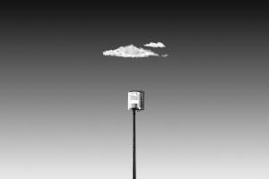 Abstrato/Candeeiro