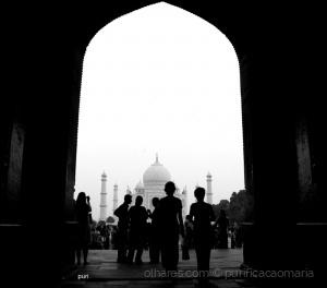 /A caminho do Taj!!