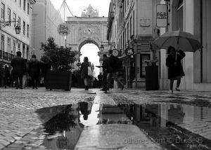Paisagem Urbana/dia de chuva