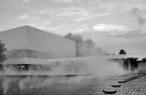 Paisagem Urbana/pelo meio das neblinas