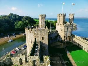 /Castelo de Caernarfon, Pais de Gales