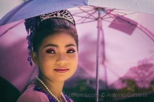 Retratos/Em tons de rosa