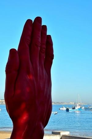 Abstrato/A mão