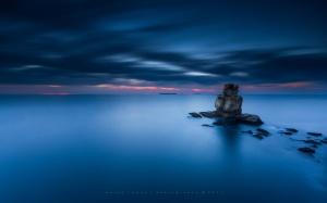 Paisagem Natural/Deep blue
