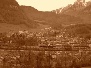 Paisagem Natural/postal glarnerland