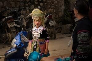 /Menina de Sapa (Norte do Vietname)
