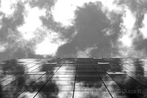 Paisagem Urbana/nuvens negras