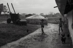 Fotojornalismo/Quando a chuva chega ao sertão...