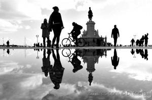 Paisagem Urbana/dias de chuva