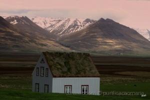 /A casa que tem telhado de relva!!