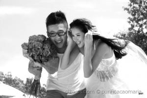 /Um casamento na praia!!