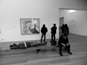 /O cansaço em exposição