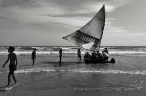 Fotojornalismo/Jangadas artesanais...